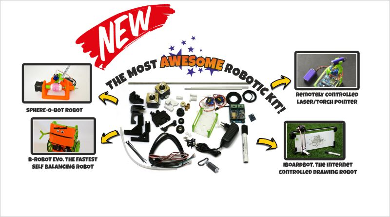 The most AWESOME robotics KIT